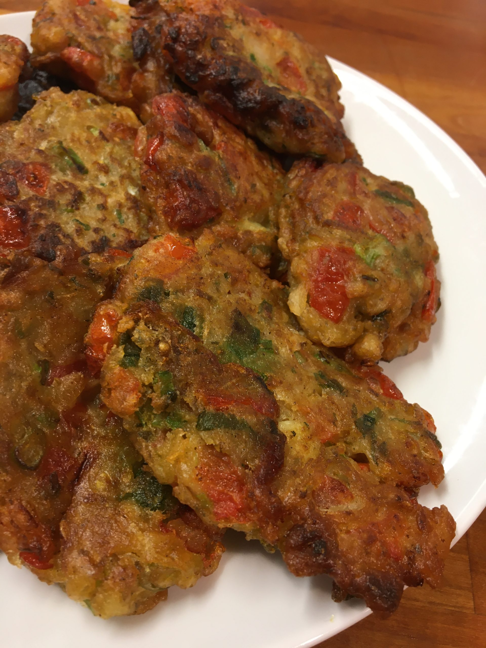Greek Cuisine With Alexandra – Tomato Fritters